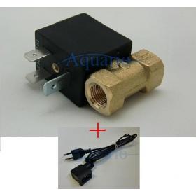 Elektrozawór 220V 3,5W + kabel zasilający