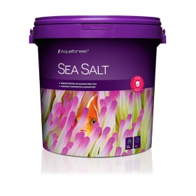 Aquaforest Sea Salt 22kg + Fish V 50ml GRATIS