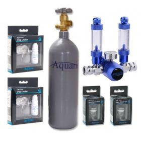 Zestaw CO2 Aquario BLUE Standard (z butlą 2l)