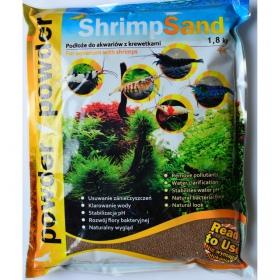 Aqua-art Shrimp Sand 4kg - czarne podłoże do krewetkarium