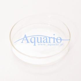 Szklana podstawka do karmienia krewetek - okręgła S