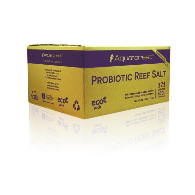 Aquaforest Probiotic Reef Salt 25kg BOX