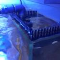 Grzebień przelewowy 42cm Aquario