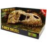 """<b>EXO TERRA T-Rex skull (czaszka dinozaura)</b><br /><br /><p><span style=""""font-family: verdana, geneva;"""">Spektakularna kryjówka, stanowiąca nietuzinkową ozdobę wybiegu. Produkt nadaje się dla każdego rodzaju terrarium. Ozdobne kryjówki producenta EXO TERRA mogą być używane również do akwariów oraz akwaterrariów. Produkt nie stanowi zagrożenia dla zwierząt.</span></p>"""