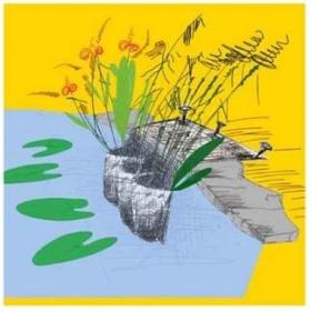 Woreczek / kieszeń do roślin wodnych jednorzędowa 95cm
