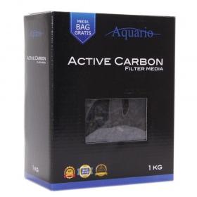 <b>Aquario Active Carbon 1kg (węgiel aktywny)</b><br /><br />&lt;p&gt;&lt;span&gt;Active Carbon to czysty węgiel aktywny od lat stosowany w akwarystyce. Zadaniem tego złoża jest absorbowanie zanieczyszczeń, wiązanie metali ciężkich, chloru, zabarwienia wody oraz jej nieprzyjemnego zapachu.&lt;/span&gt;&lt;/p&gt;