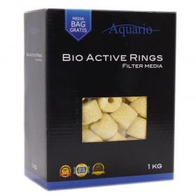 <b>Aquario Bio-Active Rings 1kg</b><br /><br />&lt;p&gt;Krążki ceramiczne Aquario Bio-Active Rings to niezwykle wydajny wkład filtracyjny, będący jednocześnie najpopularniejszym wkładem stosowanym w akwarystyce. Wyjątkowy kształt oraz unikalny proces produkcji zapewnia o wiele większą powierzchnię stanowiącą idealną bazę do osadzania się bakterii.&lt;/p&gt;
