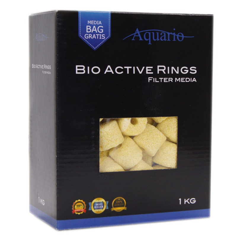 Aquario Bio-Active Ceramic Rings 1kg