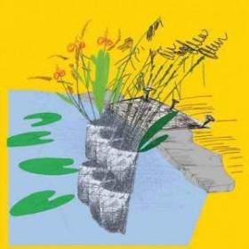 Woreczek / kieszeń do roślin wodnych dwurzędowa 95cm