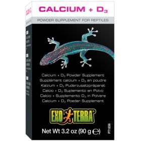 Exo Terra Calcium + D3 - wapno sproszkowane