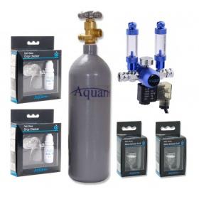 Podwójny zestaw CO2 Aquario BLUE TWIN Professional (z butlą 7)