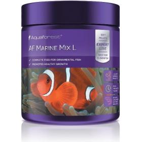 Aquaforest Marine Mix L 120g - pokarm w granulkach dla ryb mięsożernych