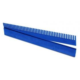 Grzebień przelewowy 42cm Aquario niebieski