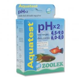 Zoolek Test PHx2 4,5-9.0 i 6,0-8,0