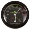 """<b>Repti-Zoo termometr higrometr analogowy</b><br /><br /><p><span style=""""font-family: verdana, geneva;"""">Zestaw dwóch urządzeń analogowych w jednym zegarze stale monitorujących temperaturę oraz wilgotność powietrza wewnątrz wybiegu. Komplet zapewnia bezpieczne i zdrowe prowadzenie każdego terrarium. Niewielkie rozmiary produktu umożliwiają adaptacje urądzenia w każdym terrarium. Kolorowa skala z podziałką ułatwia szybki odczyt danych.</span></p>"""
