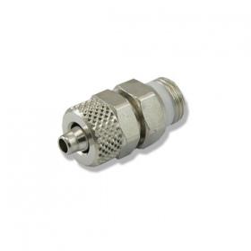 Złączka metalowa zaciskowa 1/8 cala GZ 6mm