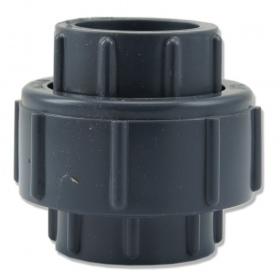 Dwuzłączka PCV KW/KW 40mm z uszczelką
