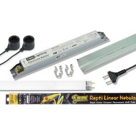 Kompletny zestaw oświetlenia 10.0 UVB 30W