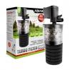 <b>Aquael Turbo filter 500</b><br /><br />&lt;p&gt;&lt;span style=&quot;font-family: verdana, geneva;&quot;&gt;Filtr ten jest wykorzystywany i przeznaczony do czyszczenia wody w akwariach, dodatkowo ją napowietrza. Filtr jest tak zbudowany, że zapewnia potrójną filtrację czyli mechaniczną, biologiczną i chemiczną. Wraz z filtrem mogą być stosowane dowolne wkłady filtracyjne.&lt;/span&gt;&lt;/p&gt;