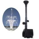 Hsbao FHSB-750 - pompa fontannowa z dyszą 1000l/h