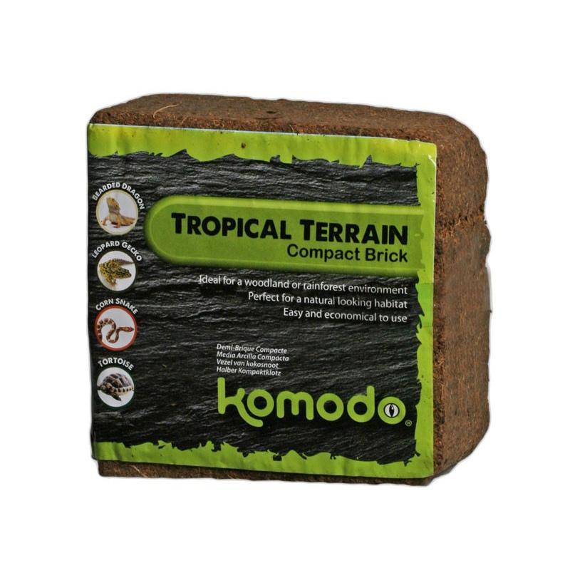 Komodo Tropical Compact Brick S - podłoże z włókien kokosa 4l