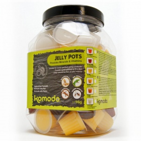 Komodo Jelly Pot  Mixed Flavours  Jar - miks pokarmów w żelu 60szt.