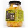 <b>Komodo Jelly Pot Banana Jar - pokarm banan w żelu 60szt.</b><br /><br /><p>Komodo Jelly Pots to wygodny sposób na zapewnienie stałego dostępu do świeżej żywności dla gadów i owadów.<br />Produkt w formie żelu zachowuje swoje właściwości przez długi czas, dostarczając zwierzętom niezbędnych witamin oraz pożywienia. Jelly Pot's posiadają różne smaki nektarów i owoców, aby urozmaicić dietę oraz dopasować wybrany smak oraz suplement diety dla konkretnego gatunku hodowanego pupila.<br /><br /><br /></p>