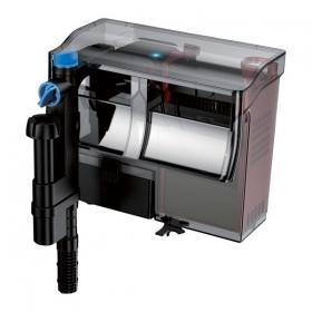 <b>SunSun / Grech CBG-800 - filtr kaskadowy z UV</b><br /><br />&lt;p&gt;Seria filtrów CBG marki SunSun zapewnia wielostopniową filtrację wody wraz z sterylizacją lampa UV-C o mocy 5W.&lt;br /&gt;Posiada szereg udogodnień, ułatwiających jego obsługę filtra, takich kosze na media filtracyjne, uchwyt na kosze, regulację przepływu. Filtr, oprócz standardowego wlotu wody z sitkiem zabezpieczającym posiada, dodatkowo posiada wlot wody - skimmer powierzchniowy.&lt;/p&gt;