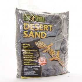 EXO TERRA Black Sand 4,5kg - piasek pustynny czarny