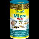Tetra Micro Menu 100ml - zestaw pokarmów 4 w 1