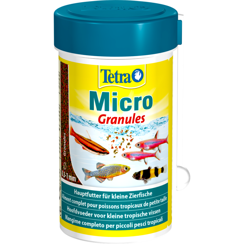 Tetra Micro Granules 100ml - mikro pokarm granulki