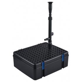 <b>Jebao UFP-1000 - zintegrowany zestaw filtrujący</b><br /><br />&lt;p&gt;Model UFPto zintegrowany system zaawansowanej filtracji wody z wbudowaną lampą UV-C oraz dyszą wylotową fontannową. Filtr zapewnia klarowność wody oraz zdrowe warunki hodowlane, a lampa UV-C zapobiega powstawaniu glonów. Dysza wylotowa daje piękny efekt fontanny o różnych formach. Zestaw posiada pompę o wydajności 1000l/h.&lt;/p&gt;