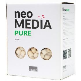 <b>Neo Media Pure 5l - wkład ceramiczny neutralne pH</b><br /><br />&lt;p&gt;Wkłady filtracyjne NEO Media powstały po 5 latach działalności grupy naukowców, której celem było stworzenie najlepszego wkładu biologicznego,zawierającego najwyższy na świecie poziom mikroporów. &lt;br /&gt;Wkłady NEO MEDIA oferują największą powierzchnie w stosunku do objętości, aż 4000m2/l. Taki współczynnik jest daleko poza zasięgiem, nawet najlepszej konkurencji (SIPORAX 270m2/l, Substrat PRO 450m2/l).&lt;/p&gt;