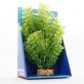 <b>Yusee Roślina - Kabomba Zielona 20cm</b><br /><br />&lt;p&gt;Rośliny sztuczne Yusee są jednymi z najładniejszych na rynku, dzięki ręcznej końcowej fazie produkcji. Spektakularny końcowy efekt wizualny dopełnia wyjątkowa struktura naturalny kształt i mocne żywe kolory.&lt;br /&gt;Produkty Yusee charakteryzują się niezwykłą wytrzymałością oraz odpornością na działanie wody i wysokiej temperatury.&lt;/p&gt;