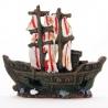 <b>Yusee Dekoracja - Statek Piratów 15x5x13cm</b><br /><br /><p>Dekoracje Yusee są jednymi z najładniejszych na rynku, dzięki ręcznej końcowej fazie produkcji. Spektakularny końcowy efekt wizualny dopełnia wyjątkowa struktura oryginalny kształt i mocne żywe kolory.<br />Produkty Yusee charakteryzują się niezwykłą wytrzymałością oraz odpornością na działanie wody i wysokiej temperatury. <br /><br /></p>