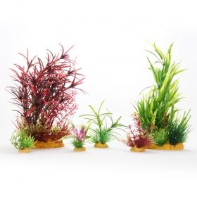 <b>Yusee Zestaw Roślin MAXI RED 20x9x12</b><br /><br />&lt;p&gt;Rośliny sztuczne Yusee są jednymi z najładniejszych na rynku, dzięki ręcznej końcowej fazie produkcji. Spektakularny końcowy efekt wizualny dopełnia wyjątkowa struktura naturalny kształt i mocne żywe kolory.&lt;br /&gt;Produkty Yusee charakteryzują się niezwykłą wytrzymałością oraz odpornością na działanie wody i wysokiej temperatury.&lt;/p&gt;