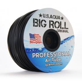 U.S.Aqua Airline Black - wężyk 6mm 1mb