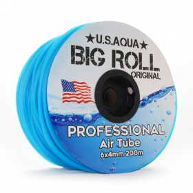 <b>U.S.Aqua Airline Blue - wężyk 6mm rolka 200m</b><br /><br />&lt;p&gt;Rolka wężyka silikonowego do napowietrzaczy o standardowych wymiarach 4/6mm. Rolka zawiera 200m wężyka. Produkty oryginalny - marki U.S.Aqua.&lt;/p&gt;