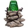 <b>Repti-Zoo fontanna dla kameleonów gekonów z podstawką</b><br /><br /><p>Repti-Zoo Drinking Fountain to innowacyjny i unikalny produkt zaprojektowany z myślą o potrzebach kameleonów i gekonów zaopatrując je stale w czystą wodę. Produkt posiada specjalny filtr wody, pompę oraz kaskadę wodną która spływa po roślinach imitując naturalne środowisko. Zjawisko kaskady zachęca zwierzę do pobierania wody z liści tak jak ma to miejsce w naturze.</p>