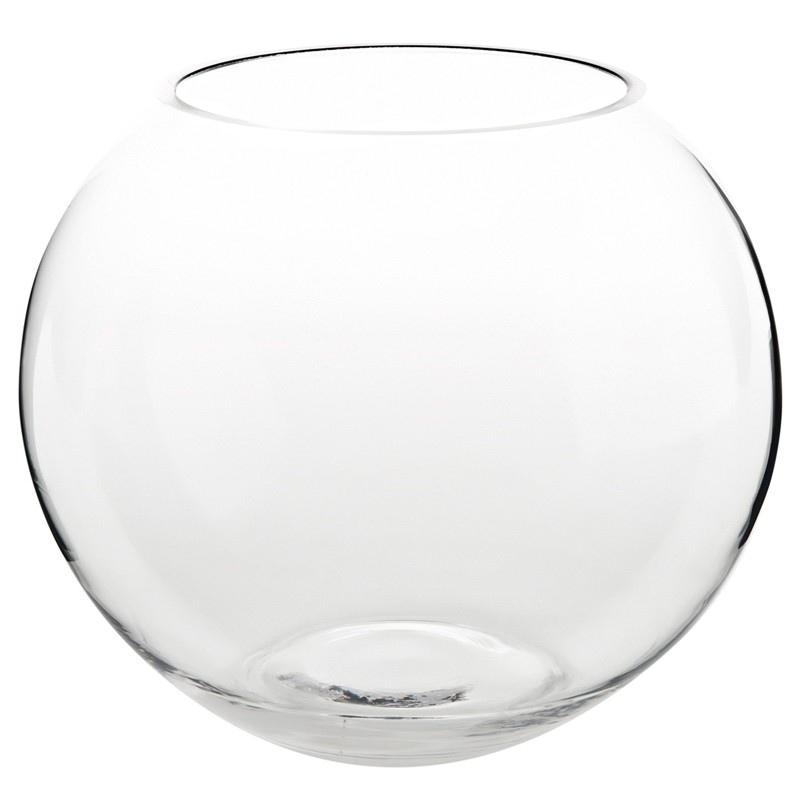 Wazon kula szklana 2,5l 17x15cm