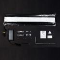 Cyrex TY-4 - Lampa LED 122W 115 - 150cm