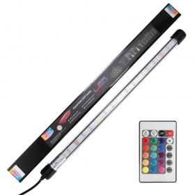 <b>Hsbao Retro-Fit LED - 12W 53cm Full Colour</b><br /><br /><p>Seria profesjonalnych lamp LED o kształcie i grubości tradycyjnej świetlówki T8. Lampy mogą stanowić nowoczesny zamiennik tradycyjnej i przestarzałej na dzisiejsze czasy świetlówki T8 lub mogą spełniać rolę dodatkowego oświetlenia. Świetlówki LEDproducenta Hsbao jako jedyne Retro-fit'y na rynku są sterowane bezprzewodowo z pilota oraz posiadają pełna paletę barw światła widzialnego.</p>