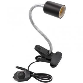 <b>Terrario ReptiSun Long - lampa z uchwytem zaciskowym</b><br /><br /><p>LampaReptiSun to kompletna lampa przystosowana do użytku w terrariach przy bardzo wysokich temperaturach. Obsługuje żarówki do 200W mocy, dzięki ceramicznej oprawce na standardowy gwint e27. Lampa posiada mocny zacisk, który umożliwia zawieszenie zestawu oraz długie gięte ramię, dzięki któremu można skierować światło w dowolnym kierunku. Na Kablu znajduje się regulator mocy.<br /><br /></p>