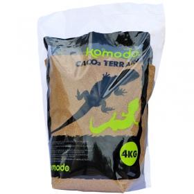 <b>Komodo CaCo3 Sand Caramel - jadalny piasek dla gadów</b><br /><br /><p>Komodo CaCo3 Sand to jedyny jadalny piasek obecnie dostępny na rynku. Przeznaczony do hodowli gadów z terenów pustynnych, nie stanowi żadnego zagrożenia w przypadku połknięcia, gdyż jest w 100% naturalnym węglanem wapnia.</p>
