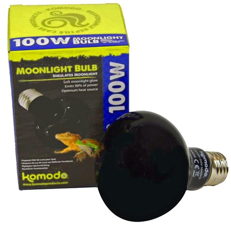 Komodo Moonlight 50W - nocna żarówka grzewcza