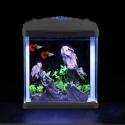 SunSun HR-230 - Akwarium zestaw czarny 7l