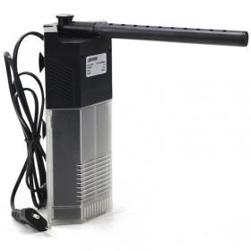 <b>SunSun Corner Filter - filtr wewnętrzny narożny 650l/h</b><br /><br /><p>Filtr wewnętrzny o niespotykanej konstrukcji umożliwiającej umieszczenie go w rogu akwarium.Filtr standardowo wyposażony jest w deszczownicę oraz regulacje wydajności przepływu. Narożny montaż umożliwił zwiększenie objętości kubka na media filtracyjne.</p>