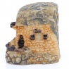 <b>Ant Expert - Grecki Domek piaskowy - mini dekoracja</b><br /><br /><p>Mikro dekoracja rzymski domekświetnie sprawdzi się w każdym formikarium, terrarium, akwarium czy w lesie w słoiku. Wykonana zceramikiodporna jest na wilgotność, działanie wody oraz wysoką temperaturę. Dekoracje Ant Expert są jednymi z najładniejszych na rynku. Precyzyjne malowanie odbywa się ręcznie.</p>