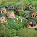 Ant Expert - Leśny Domek ciemny - mini dekoracja
