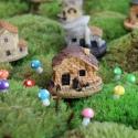 Ant Expert - Skandynawski Dom ciemny - mini dekoracja